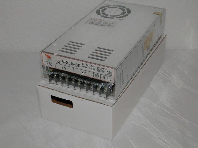 Schaltnetzteil 60 Volt 5,85 Ampere