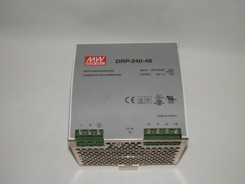 Mean Well Schaltnetzteil 48 Volt 5 Ampere