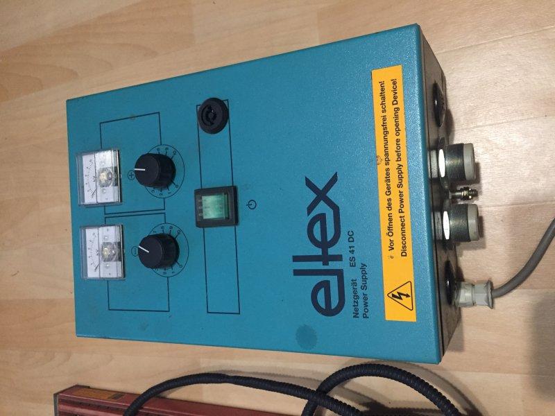 Eltex ES 41 DC Hochspannungs Netzgerät 2 x 6 KV