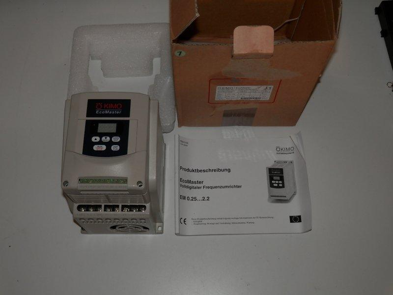Kimo EcoMaster Frequenzumrichter 200Hz  230V-3x230V