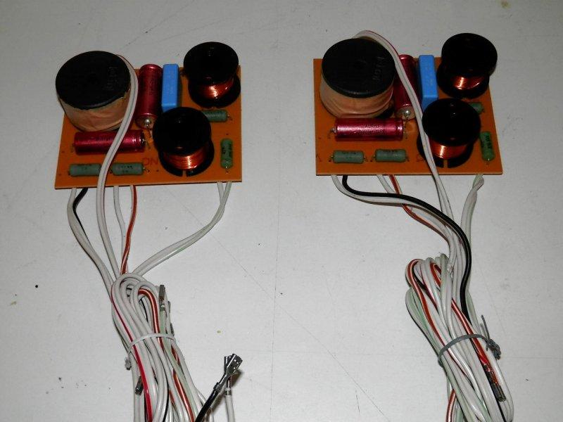 1 Paar Frequenzweichen aus Quadral Merin  80/120 Watt