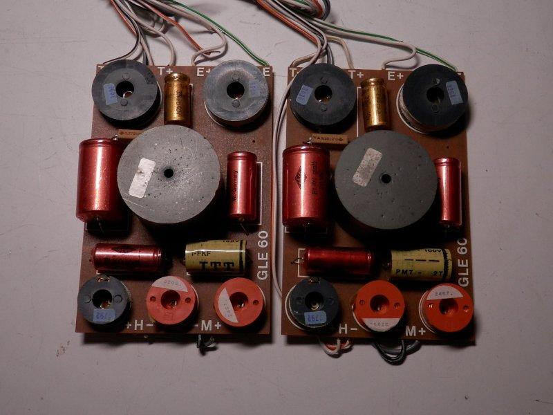 1 Paar Frequenzweichen aus Canton GLE 60  60/90 Watt 4 Ohm